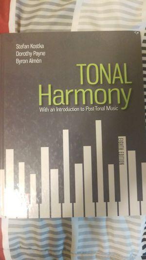 Tonal Harmony 8th edition for Sale in Yelm, WA