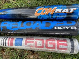 Aluminum baseball bats 31 inches for Sale in Cerritos, CA