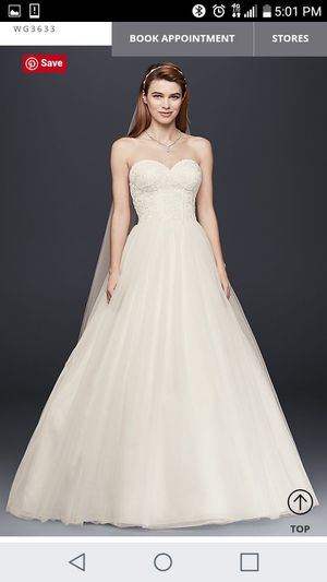 Preowned Wedding dress for Sale in Durham, NC
