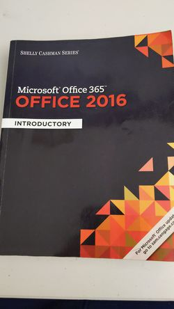 Microsoft Office 360 2016 introductory text for Sale in S HARRISN Township,  NJ