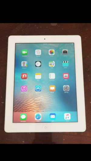 iPad 3, 3rd generation, Cellular and wi-fi internet access, Factory UNLOCKE// Useable with WI-FI & SIM. Excellent Condition. for Sale in Springfield, VA