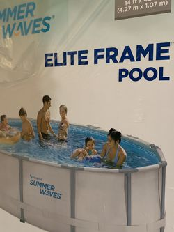 """14' Above Ground Pool Set 42"""" High Brand New In Box Worth Ladder Filter & Cover for Sale in Miami,  FL"""