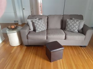 Couch and end table 250.00 takes it all for Sale in Rocky River, OH