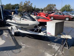 2001 Jet Ski with Trailer Seadoo Polaris for Sale in Long Beach, CA