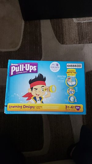 Huggies Pull-ups 3T-4T 84 count for Sale in Dearborn, MI