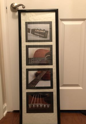 Picture of pieces of a guitar. Never even been hung for Sale in Neptune City, NJ