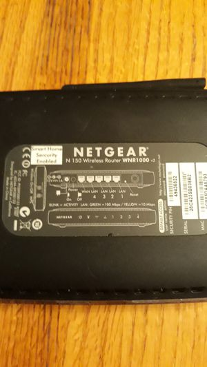 Netgear N150 Wireless Router for Sale in Columbus, OH