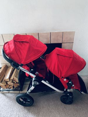 Baby Jogger - City Select Double Stroller - Red for Sale in Seattle, WA