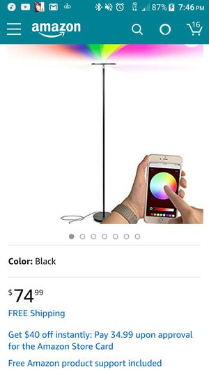 led color changing lamp for Sale in Hesperia, CA