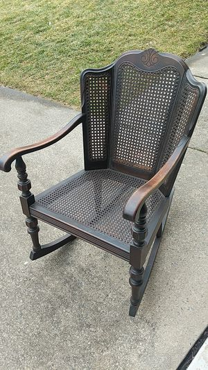 Antique rocker with caning for Sale in Oakton, VA