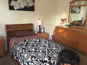 Twin size bed & bed frame set for Sale in Ballwin, MO