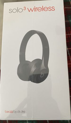 Beats by Dre Solo 3 Wireless Headphones Head Phone NIB New for Sale in Downey, CA