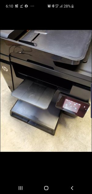 New condition all in one hp laser printer with full toner fax, print, scan, copy for Sale in Carlsbad, CA
