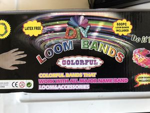Loom bands kit and bags of bands for Sale in Lexington, KY