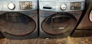 Samsung washer and dryer front load set high capacity for Sale in San Antonio, TX