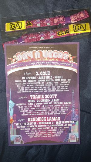 Day n Vegas GA tickets for Sale in Stockton, CA