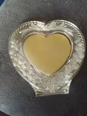 Crystal like photo frame for Sale in Lansing, MI