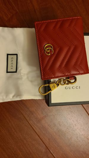 (NEW/Authentic)Gucci card wallet with keychain for Sale in Buena Park, CA