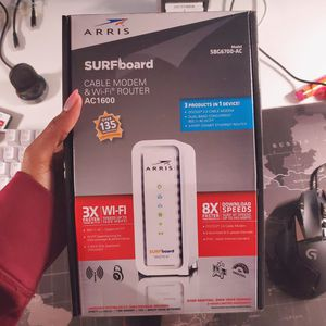Arris Modem and Router Combo for Sale in Coral Springs, FL