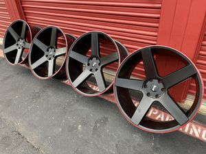 DFD BALLERS FORD EXPEDITION F150 RIMS 24 INCH for Sale in Irving, TX