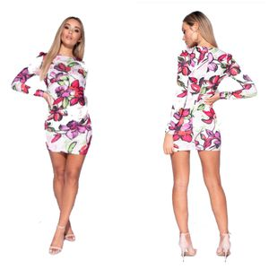 Parisian Large Floral Bodycon Mini Dress for Sale in Lancaster, TX