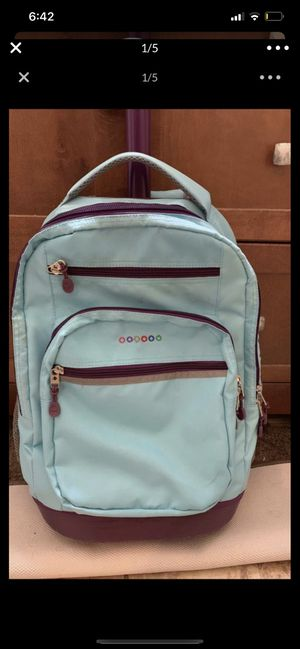 Rolling school bag / back pack for Sale in Richboro, PA