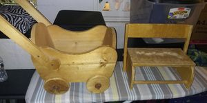 Kids Wooden chair and cart FREE for Sale in Spring Valley, CA