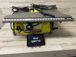 Ryobi 15 Amp 10 in. Table Saw No stand or rip guide for Sale in Mesa, AZ