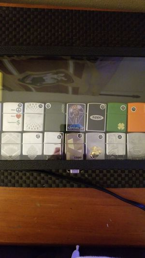 Zippo Lighter Collection w/ Case (19 Zippos) for Sale in Land O' Lakes, FL