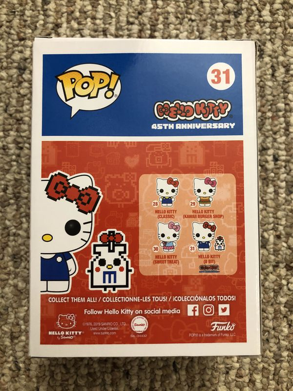 Funko Pop Vinyl - Hello Kitty (8 Bit) - Limited CHASE Edition