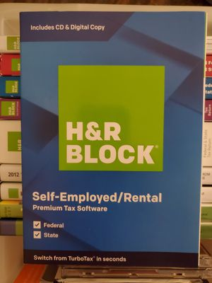 H&R Block Tax Preparation Software for Sale in Gilbert, AZ