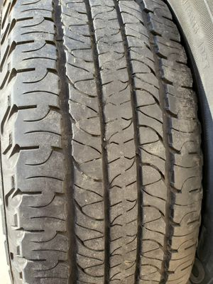 2 New trailer rims and spare tires 225/75r15 for Sale in Antioch, CA