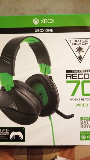 Xbox one turtle beach headset for Sale in Garland, TX