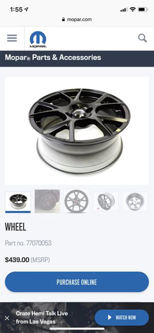 """Fiat 500 black rims! 16"""" for Sale in Gambrills, MD"""