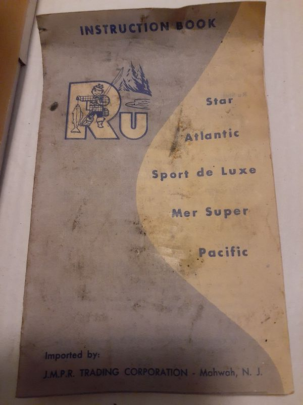 Ru * Star Fishing Reel *Complete*