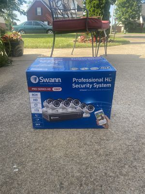 Swann profesional HD security system for Sale in Murfreesboro, TN