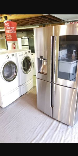 🌺like new used *stove refrigerator washer dryer stackable diswadher**address 21639 pacific hwy S Des moines wa **90 days warranty available delivery for Sale in Seattle, WA