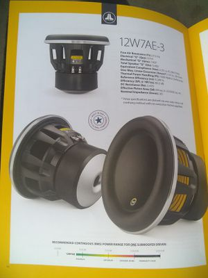 2 w7 jl audio for Sale in Moreno Valley, CA