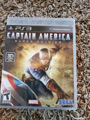 Ps3 Captain America for Sale in Saginaw, TX