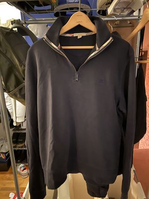 Burberry 1/4 zip shirt for Sale in Holland, PA