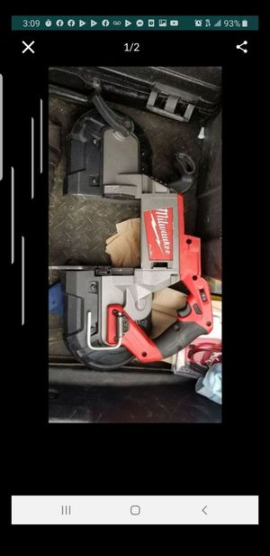 Band saw milwaukke fuel 18 v only tool for Sale in San Diego, CA