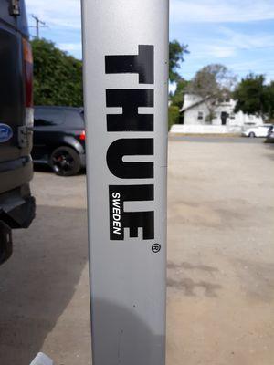 "Thule aero 3 bike hitch rack. receiver 1""or 2"" for Sale in Goleta, CA"