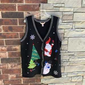 WhiteStag Christmas Sweater Vest 1X for Sale in Choctaw, OK