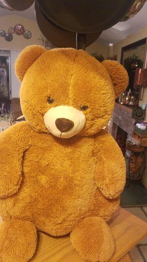 Stuffed large Teddy Bear for Sale in Everett, WA