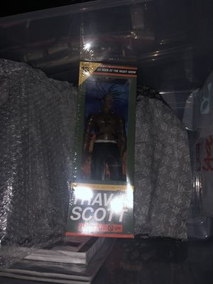 Travis Scott rodeo action figure for Sale in Chicago, IL