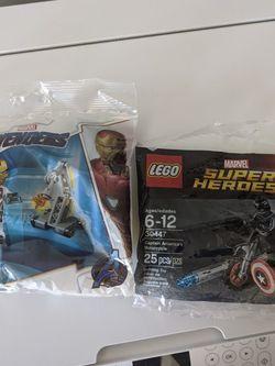 LEGO Marvel Ironman & Captain America Motorcycle for Sale in Burke,  VA