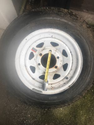 Trailer tire and rim for Sale in Berlin, MA