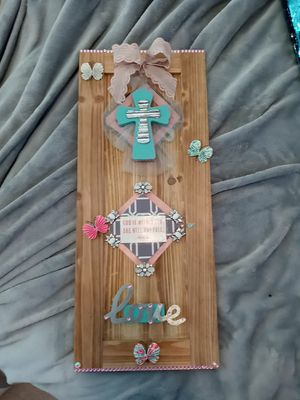 """Wall decor. With scripture """" God is within her, she will not fail"""" for Sale in Fairfax, VA"""