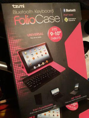tzumi Bluetooth Keyboard Folio Case for Sale in San Diego, CA