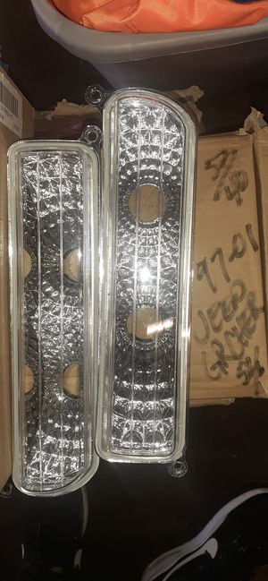 97-01 Jeep Grand Cherokees bumper headlights for Sale in Rancho Cucamonga, CA